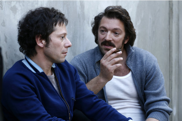 Mathieu Amalric Vincent Cassel Mesrine: Public Enemy #1 Production Stills Music Box 2010