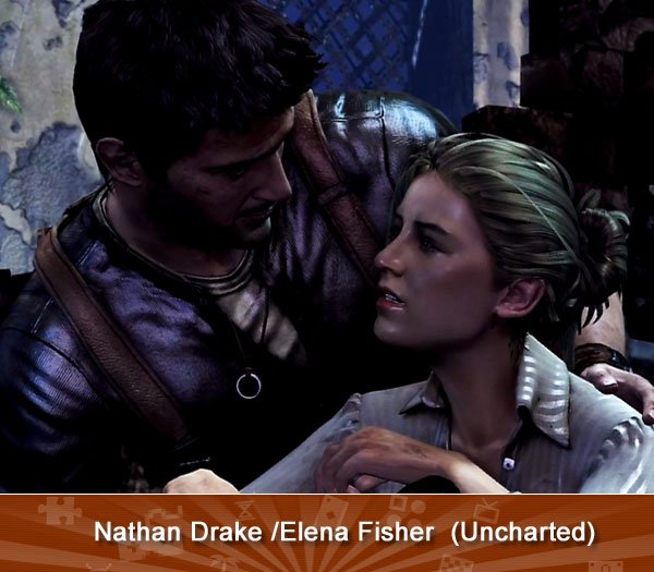 Nathan Drake /Elena Fisher (Uncharted)
