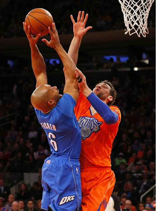 Oklahoma City Thunder v New York Knicks