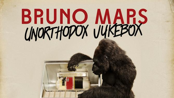 """This undated publicity photo provided by Atlantic Records shows the cover of Bruno Mars' new album, """"Unorthodox Jukebox."""" (AP Photo/Atlantic Records)"""