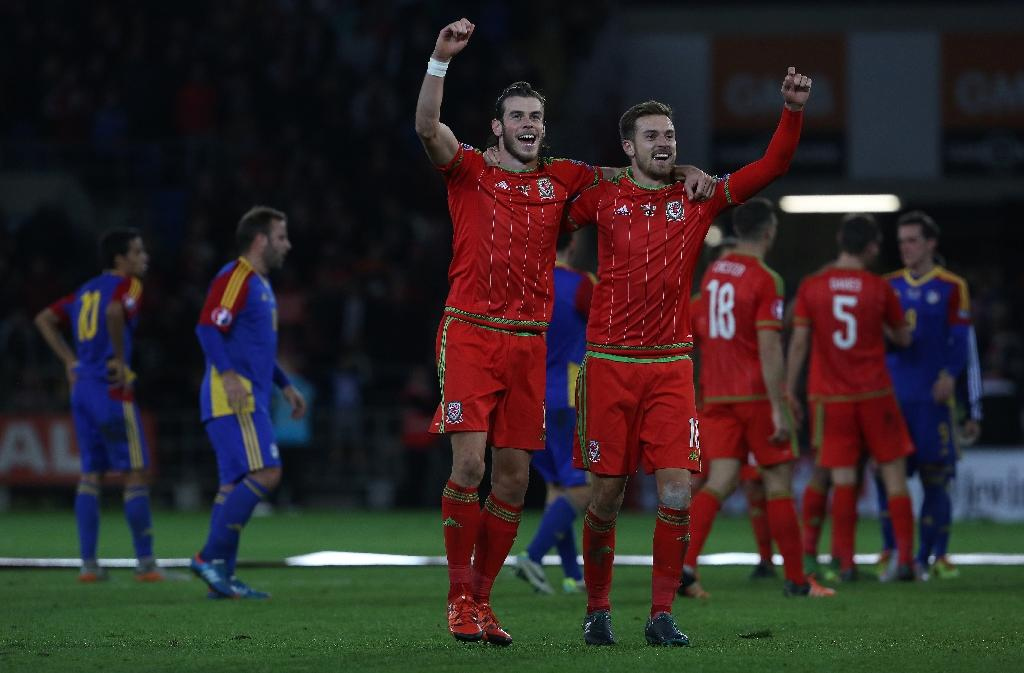 Ramsey and Bale get Welsh party started
