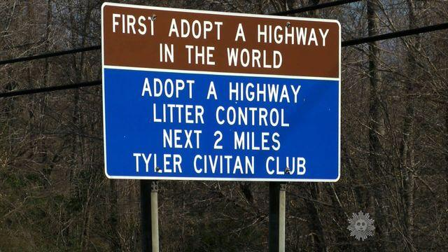 Almanac: Adopt-a-Highway signs