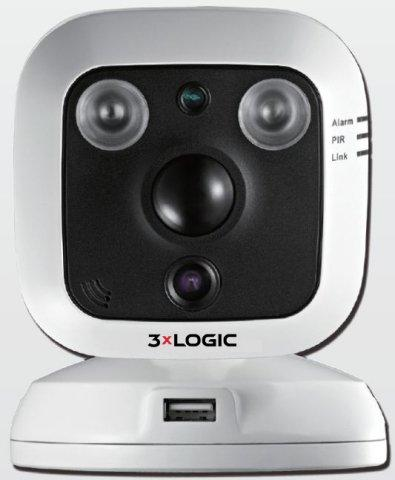 "3xLOGIC Unveils Wireless ""All-in-One"" Cube Camera"