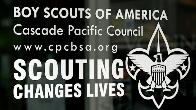 FILE In this Sept. 13, 2011, file photo, shows the front door of the Boy Scouts of America Cascade Pacific Council office, in Portland, Ore. The Oregon Supreme Court has approved the release of 20,000 pages of so-called perversion files compiled by the Boy Scouts of America on suspected child molesters within the organization for more than 20 years, giving the public its first chance to review the records. The files gathered from 1965 to 1985 came to light when they were used as evidence in a landmark Oregon lawsuit that ended in 2010 with a jury ruling that the Scouts had failed to protect a plaintiff who had been molested by an assistant scoutmaster in the early 1980s. (AP Photo/Rick Bowmer, File)
