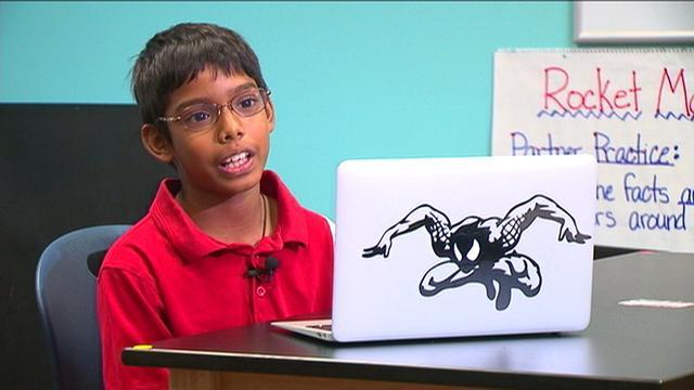 8-year-old cyber security expert has his own company
