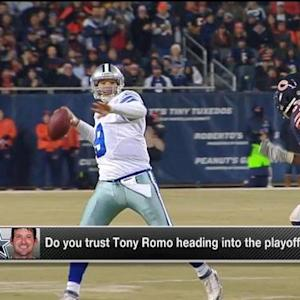 Should Romo be trusted heading into the playoffs?