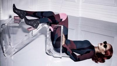 Rihanna and Sick Lucite Chair Star in Latest Dior Campaign