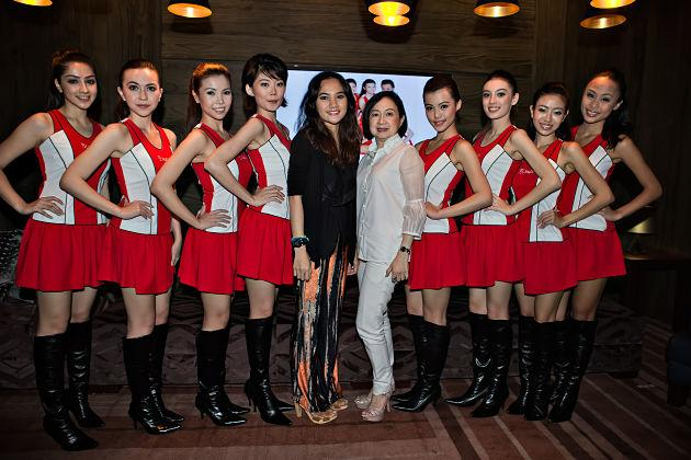 SingTel Grid Girls