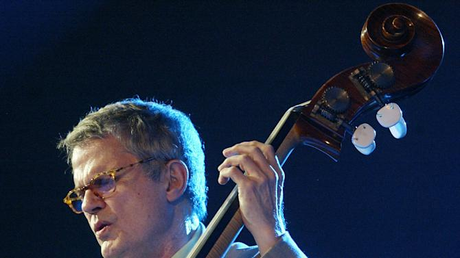 Grammy Award-winning Charlie Haden, pictured during a performance in Spain in July 2005, has died in Los Angeles aged 76