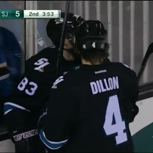 Brenden Dillon Goal on Ilya Bryzgalov (16:07/2nd)