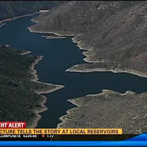 Drought Alert: The picture tells the story at local reservoirs