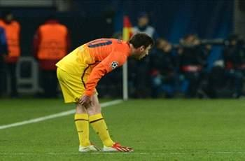 Messi doubtful for second leg against PSG