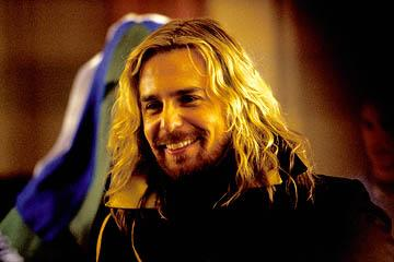 Sam Rockwell as Zaphod Beeblebrox in Touchstone Pictures' The Hitchhiker's Guide to the Galaxy