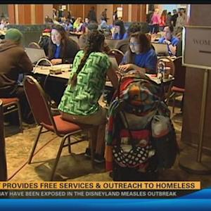 Event provides free services and outreach to homeless