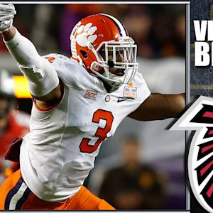 120 NFL Mock Draft: Atlanta Falcons Select Vic Beasley
