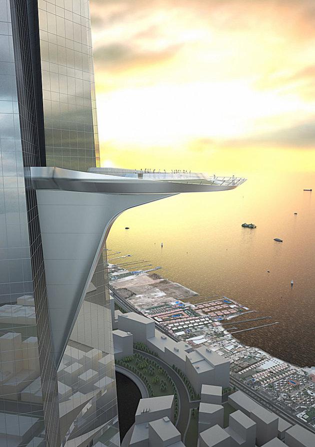أعلن الأمير الوليد بن طلال صاحب المشروع أنّ مجموعة بن لادن استثمرت فيه 1.5 مليار ريال سعودي للحصول على 16.63 في المئة من شركة جدة الإقتصادية مالكة المشروع الكبير
