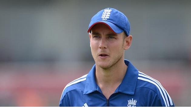 Cricket - Broad grounded by weather