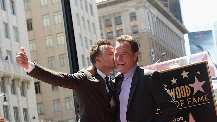 Bryan Cranston Honored On The Hollywood Walk Of Fame