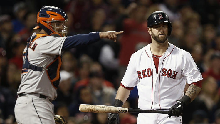 MLB: Houston Astros at Boston Red Sox