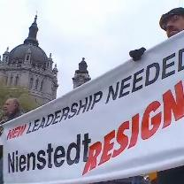 Catholics Gather At Cathedral To Protest Archbishop Nienstedt