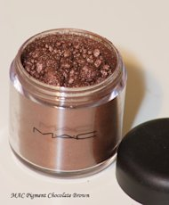 MAC Chocolate Brown Pigment