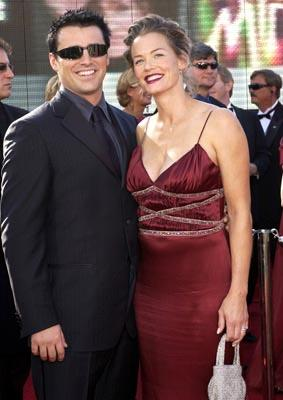 Matt LeBlanc and wife 55th Annual Emmy Awards - 9/21/2003