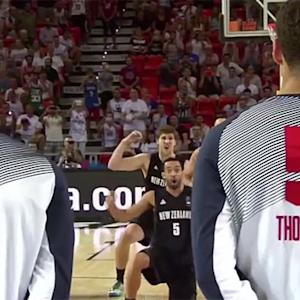 New Zealand Haka dance draws humorous reactions from Team USA
