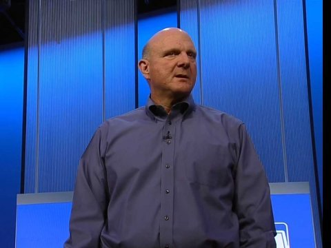 Microsoft Build Event Steve Ballmer