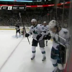 Logan Couture Goal on Marc-Andre Fleury (15:38/2nd)