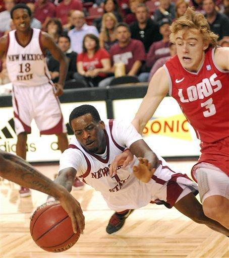 Gordon, New Mexico down New Mexico State 89-67