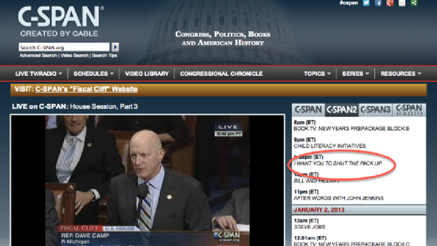 The Not-So-Dirty Truth About C-SPAN's Dirty Programming Lineup