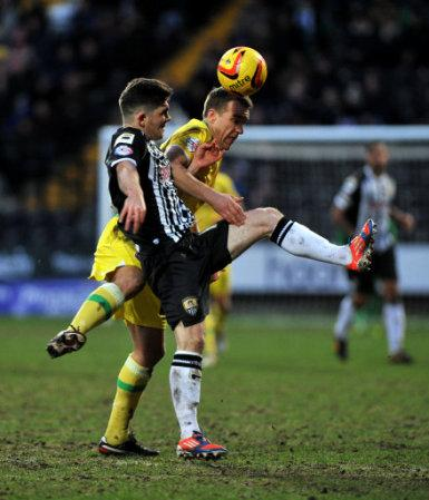 Soccer - Sky Bet League One - Notts County v Sheffield United - Meadow Lane