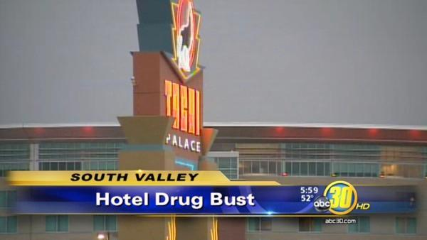 18 arrested in Tachi Palace Hotel & Casino drug bust