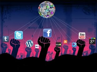 Facebook, Twitter and True Intentions image social media activism 1 450x337