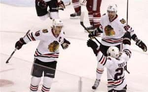 Chicago stays alive with 2-1 OT win over Phoenix