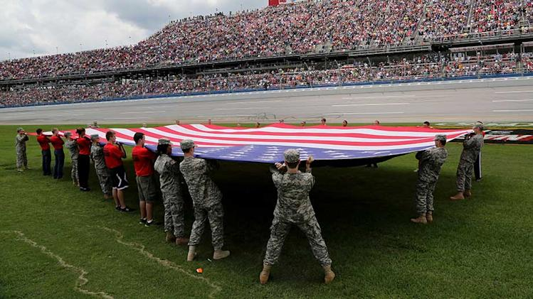 'NASCAR: An American Salute' honors military