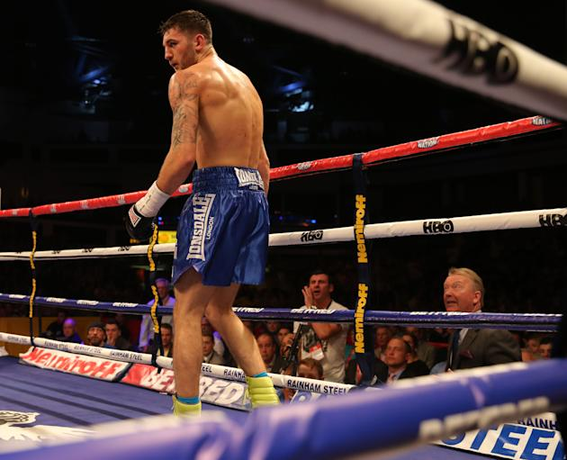Boxing - WBO Light Heavyweight Title - Nathan Cleverly v Sergey Kovalev - Motorpoint Arena