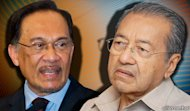 DAP backs Anwar so it can control him, says Mahathir