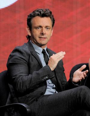 "Actor Michael Sheen participates in ""Masters of Sex"" panel at the Showtime Summer TCA on Tuesday, July 30, 2013, at the Beverly Hilton hotel in Beverly Hills, Calif. (Photo by Chris Pizzello/Invision/AP)"