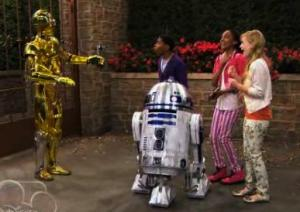 Exclusive First Look: Star Wars Meets Disney Channel as A.N.T. Farm Visits Skywalker Ranch