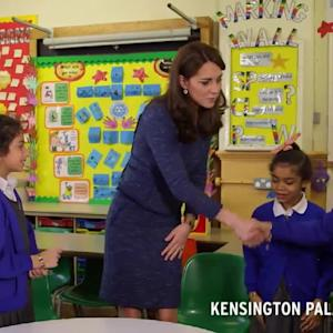 Kate Middleton On Children's Mental Health: Every Child Deserves to Feel Confident