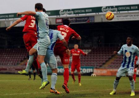 Soccer - Sky Bet League One - Coventry City v Crawley Town - Sixfields Stadium
