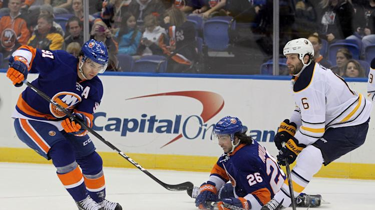 NHL: Buffalo Sabres at New York Islanders