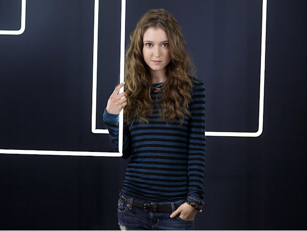 "Hayley McFarland as Emily Lightman in ""Lie To Me."""