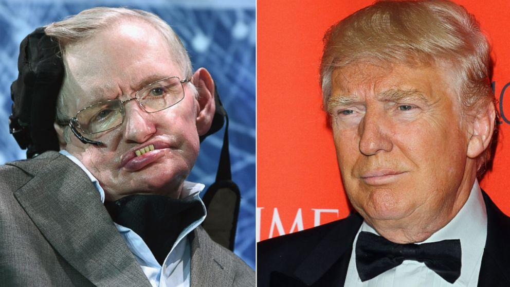 Physicist Stephen Hawking Baffled by Donald Trump's Popularity, Calls Him a Demagogue