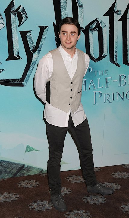 Harry Potter and the Half Blood Prince UK Photocall 2009 Daniel Radcliffe