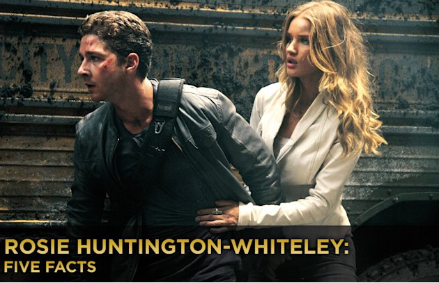 Rosie Huntington Whiteley five facts title card 2011