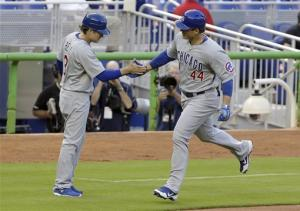 Rizzo hits 2 home runs in Cubs' 4-2 win
