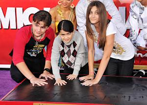 Michael Jackson's Children Honor Their Father at Handprint Ceremony