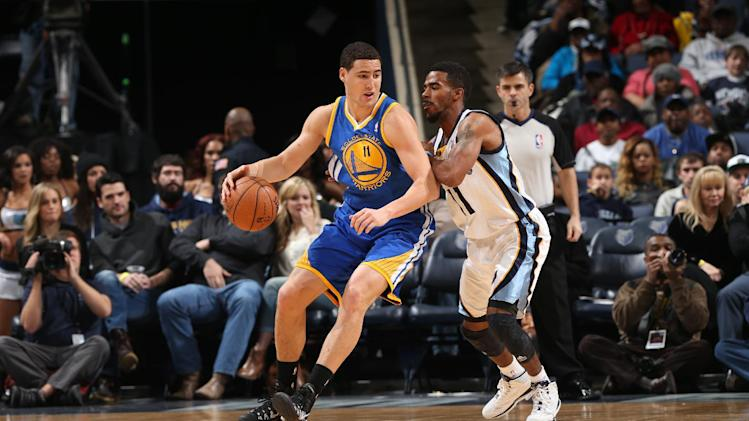 Thompson has 30 and Warriors top Grizzlies 108-82